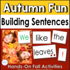 Building Sentences: Fun in the Fall