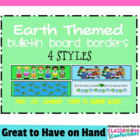 Bulletin Board Border - Earth Theme