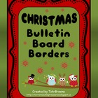 Bulletin Board Borders - Christmas Set 1