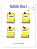 Bulletin Board Pre-K - 1st Common Core Aligned