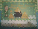 St. Patricks Bulletin Board