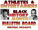 Bulletin board: Famous African American athletes and entertainers