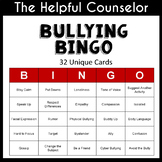 Bullying Bingo Game