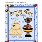 Bumbly Bear Addition! - 1st Grade - Set #2 - File Folder Game