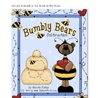 Bumbly Bears Subtraction -  File Folder Game