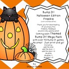 Bump It!  Halloween Edition Freebie