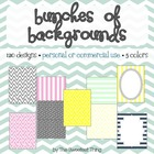 {Bunches of Backgrounds} 120 Designs, Frames for Personal