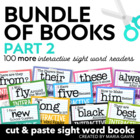 Bundle of Books, Part 2 {Interactive Sight Word Reader BUN