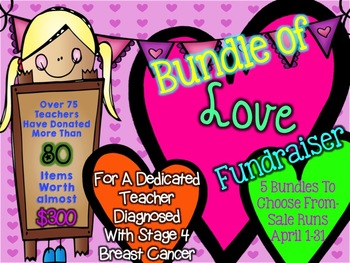 Bundle of Love Fundraiser Math and Science Resources K-5 Set 1