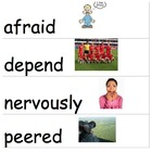 Wonders McGraw-Hill 2nd Grade Vocabulary Cards Unit 1-6