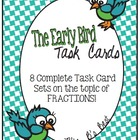 Bundled for Savings: The Early Bird Task Cards - Everythin