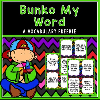 Bunko-My-Word Vocabulary Building Game