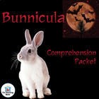 Bunnicula Comprehension Question Packet