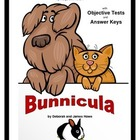 Bunnicula   Objective Tests Teaching Pack