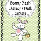 Bunny Bash Easter Math and Literacy Centers