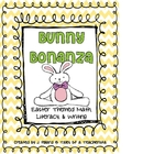 Bunny Bonanza {Easter Themed Math, Literacy, & Writing}