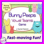 Bunny Peeps: Long Vowel Game ee, ea, ay, ai, oa, ow and Silent e