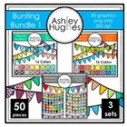 Bunting Bundle 1 {Graphics for Commercial Use}