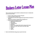 Business Letter Pack, Persuasive Writing, Hands-On