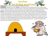 Busy Bee Ending Sound Sort - a phoneme isolation activity