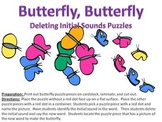 Butterfly Butterfly - deleting initial sound puzzles