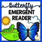 Butterfly Life Cycle Emergent Reader & Printable Coloring Book