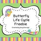 Butterfly Life Cycle - Freebie