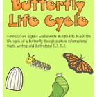 Butterfly Life Cycles: Learn through texts, posters, writi