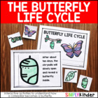 Butterfly Lifecycle Interactive Learning Journal {Simply Kinder}