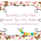 Butterfly Mini Unit With Craftivities