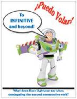 Buzz Lightyear Spanish Magnet
