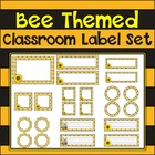 Buzzy Bees!  Bee Themed Classroom Label Set