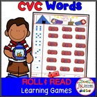 Camp Roll & Read! C-V-C Word Building Game {Common Core Co
