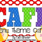 CAFE - Menu Theme Cards (Apples)