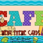 CAFE - Menu Theme Cards (Beach)