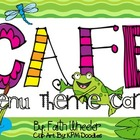 CAFE - Menu Theme Cards (Frogs)