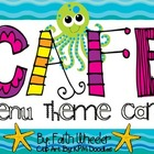 CAFE - Menu Theme Cards (Ocean)