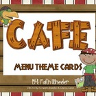 CAFE - Menu Theme Cards (Pirates)