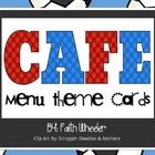 CAFE - Menu Theme Cards (Soccer)