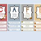 CAFE Reading Strategy Cards- Sports Theme