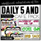 CAFE and Daily 5 Pack