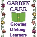 CAFE and Daily 5 Posters Garden Theme