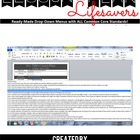 CCSS Lesson Plan Drop-Down Menus: Second Grade