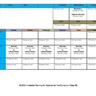 CCSS Lesson Plan Template First Grade Teacher Keys All Subjects