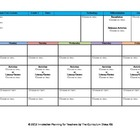 CCSS Lesson Plan Template First Grade All Subjects