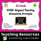 CCSS Reading Discussion Prompts (3rd Grade)