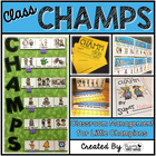 CHAMPS Classroom Management Posters, Bulletin Board & Prin