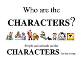 CHARACTERS poster