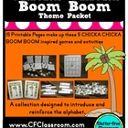 CHICKA CHICKA BOOM BOOM thematic kit and center activities