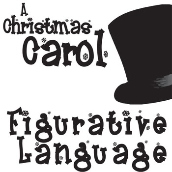 CHRISTMAS CAROL Figurative Language Bundle